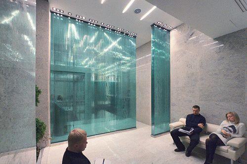 из клееного стекла и стеклянные стены QUASAR-GLUEGLASS