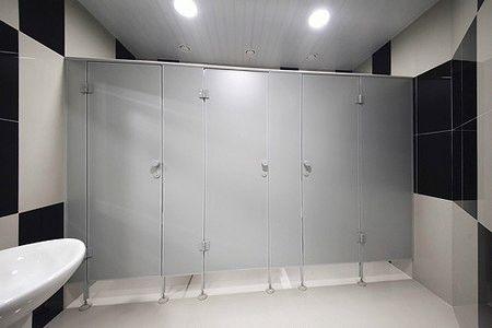 Специальные сантехнические перегородки QUASAR-SANITARY-LIGHT